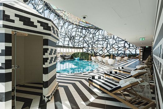 Mondrian Tower Doha - Pool & Fitness Areas